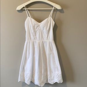 Charlotte Russe White Sundress